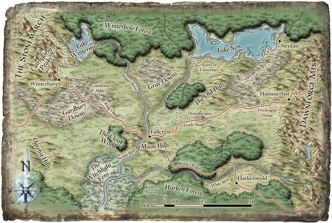 Chris Perkins Campaign Setting on Pound Words