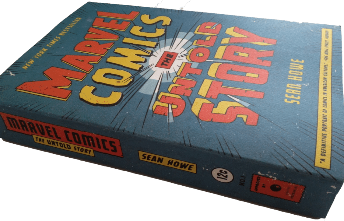 Marvel books reviews book review marvel comics the untold story by